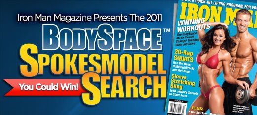 Thread: 2011 BodySpace Spokesmodel Search - Voting: Only During November