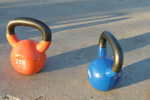 Dylan Combines Kettlebells With Conventional Weight Training And Martial Arts Into An Effective Fitness System.
