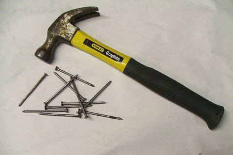 There Was Some Interchangeability Of Tools, But Screw Gun On Screws And Hammer On Nails Worked Best.