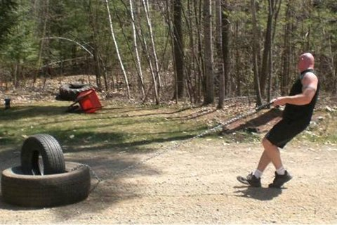 Pulling Tires Is A Cheap Alternative To A Prowler. Ideally, You'd Use Both Because They Are Actually Quite Different Because Of The Friction Created When Pulling