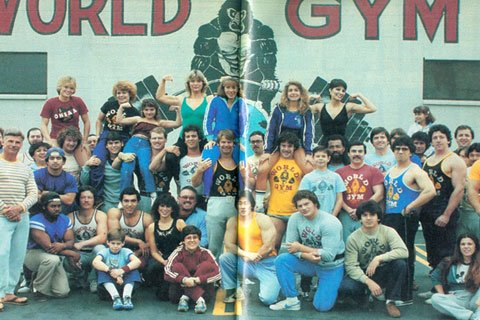 Members Of The Little Known Second World Gym In The Valley.