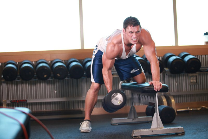 Muscle Is Built While Recovering So Reduce