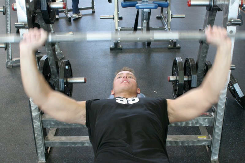 How Much Muscle Fiber Recruitment Do You Think You're Getting In Your Chest During A Pre-Exhausted Bench Press While Your Triceps Are Burning?