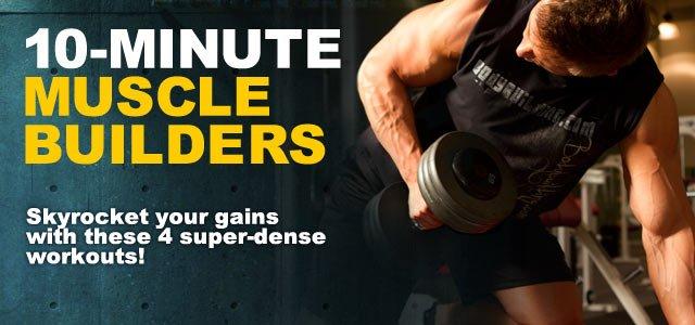 10-Minute Muscle Builders