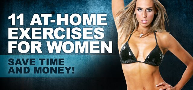 Woman Workout at Home