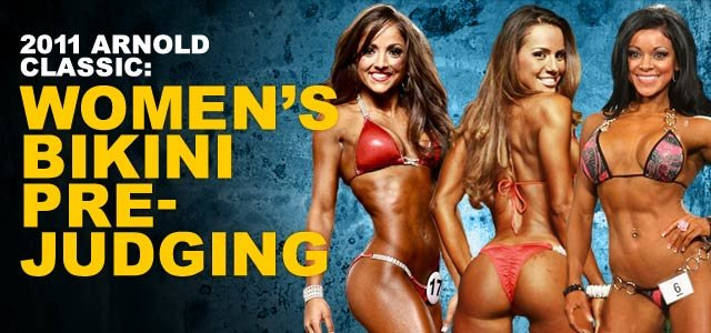2011 arnold classic womens bikini prejudging and swimsuit Wallpaper