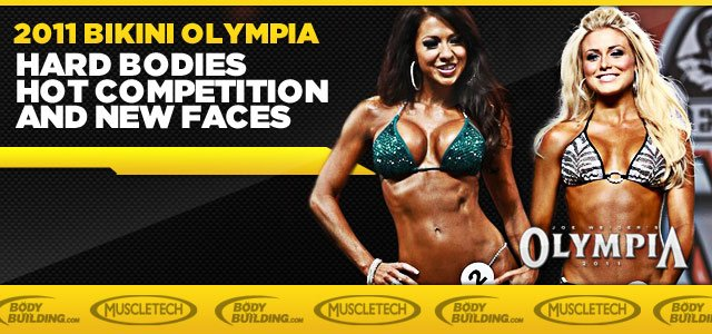 2011 Bikini Olympia Promises Hard Bodies, Hot Competition And New Faces