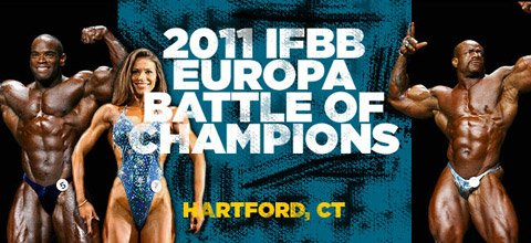 2011 IFBB Europa Hartford Battle Of Champions
