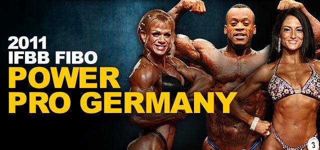 2011 IFBB FIBO Power Pro Germany