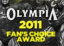 2011 Olympia Webcast Fan's Choice Award