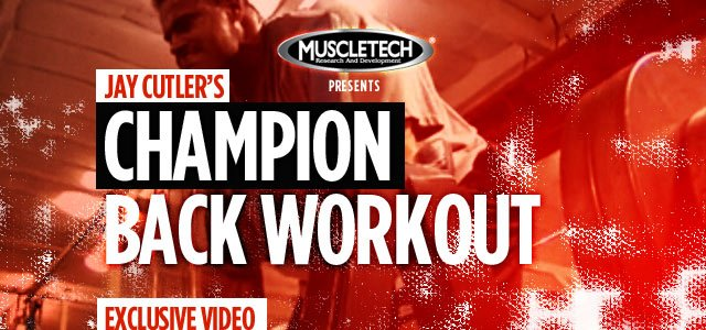 2011 Road To The Olympia: Jay Cutler Gets Back!