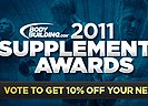 2011 Bodybuilding.com Supplement Awards Winners