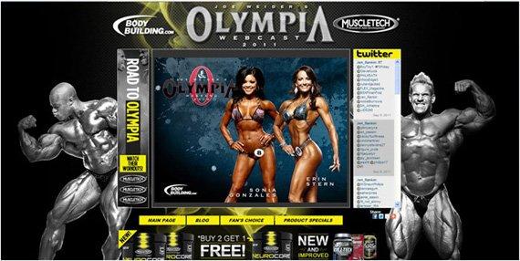 2011 Olympia Webcast