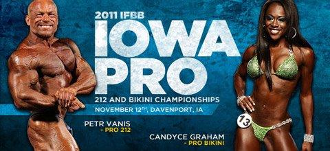 2011 IFBB Iowa Pro 212 And Bikini Championships