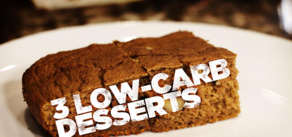 3 low carb desserts to tempt your taste buds. Black Bedroom Furniture Sets. Home Design Ideas