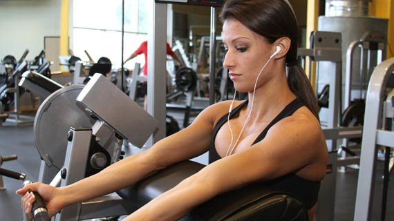 Pump up the beats and pump some iron!