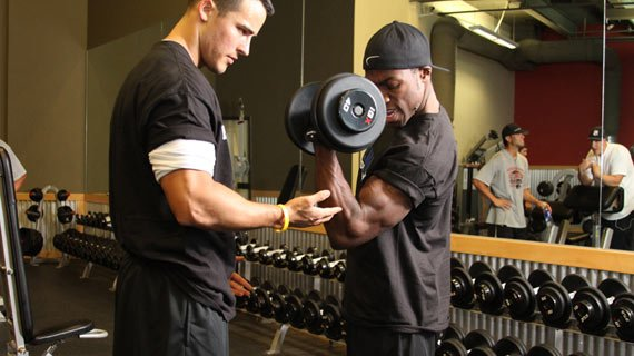 Zen and the art of muscle maintenance, courtesy of a helping hand.