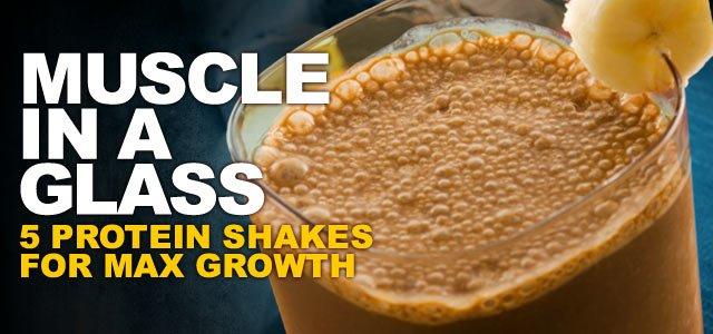 Easy homemade protein shake recipes