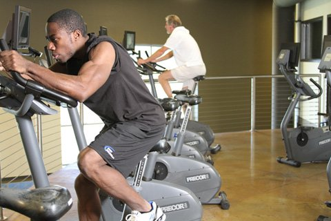 Changing speed, incline, and resistance during or between cardio sessions will keep your body on its fat-burning toes.