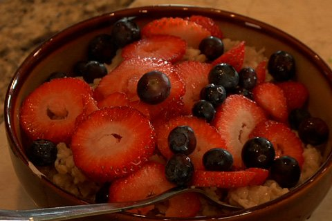 Berries Rank Low On The Glycemic Index And Will Provide The Sweetness Needed To Kill Your Cravings