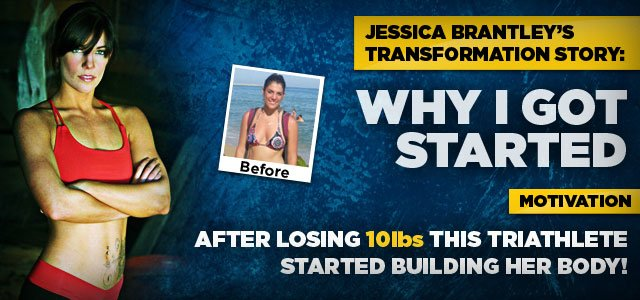After Losing 10lbs This Triathlete Started Building Her Body!