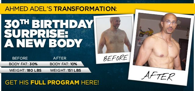 Ahmed Gave Himself A Lifestyle Change For His 30th Birthday