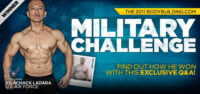 Body Transformation: Airman Vilachack Ladara Wins The 2011 Bodybuilding.com Military Challenge