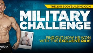 Airman Vilachack Ladara Wins The 2011 Bodybuilding.com Military Challenge!