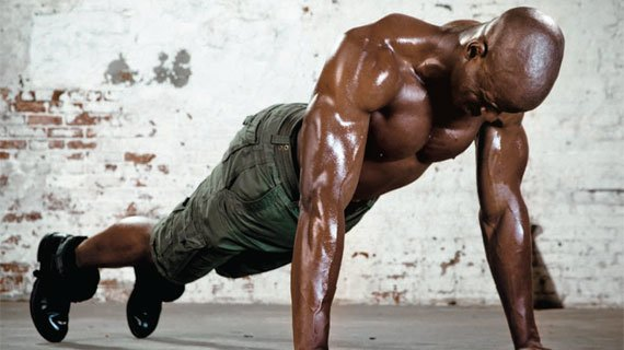 When push comes to shove, nothing beats the push-up for building the upper body.