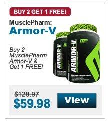 Buy 2  MusclePharm Armor-V & Get 1 FREE!