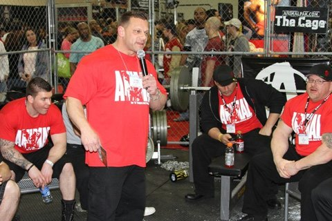 The Cage Is One Of The More Popular Booths At The Arnold And Team Animal Represented