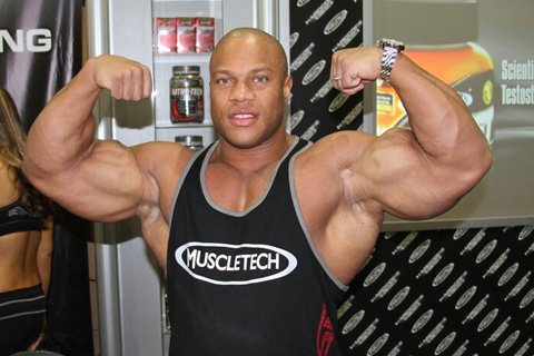Phil Heath Was In Attendance Representing Muscletech