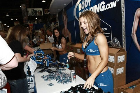 The Bodybuilding.com Booth Was Where The Cool Kids Hung Out All Weekend Long.