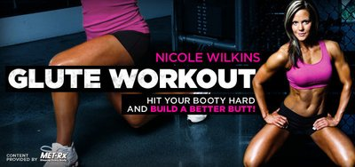 Athlete Workouts Inside The Gym: Nicole Wilkins' Glute Workout