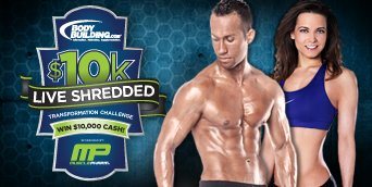 2011 Live Shredded Challenge BodyGroup