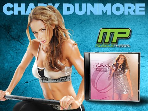 MusclePharm Athlete & Magazine Cover Girl Chady Dunmore