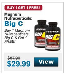Buy 1 Magnum  Nutraceuticals Big C & Get 1 FREE!