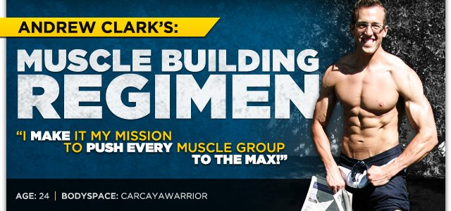 Body Transformation: Andrew Clark's Muscle Building Regimen