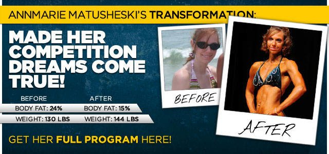 Body Transformation: AnnMarie Made Her Competition Dreams Come True
