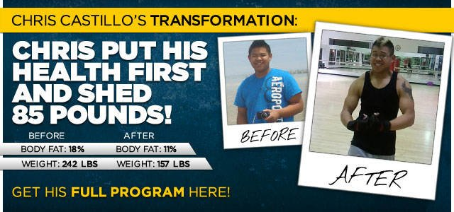 Body Transformation: Chris Put His Health First And Shed 85 Pounds
