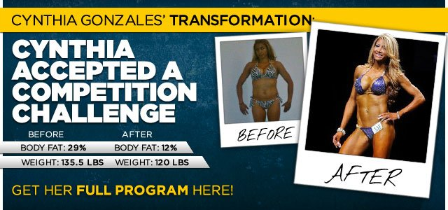 Body Transformation: Cynthia Accepted A Competition Challenge