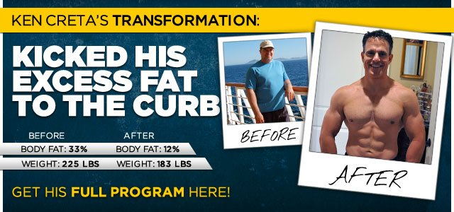 Body Transformation: Ken Kicked His Excess Fat To The Curb