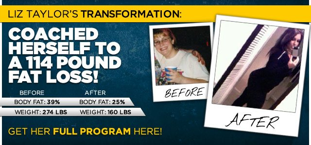 Body Tranformation: Liz Coached Herself To A 114 Pound Fat Loss