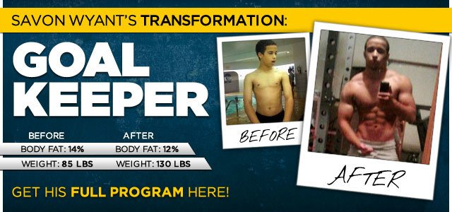 Body Transformation: Savon Went From Sickly To Strong