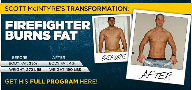 Body Transformation: This Fireman Became A Fat Burner