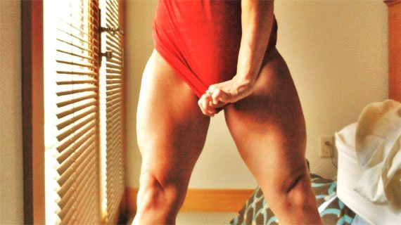 Can you believe that redheadlaw7 loves training legs?
