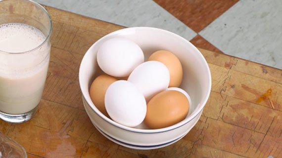Le uova sono note come le proteine perfette