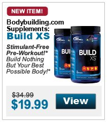 Stimulant-Free  Pre-Workout!* Build Nothing But Your Best Possible Body!*