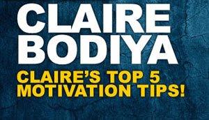 Claire's Inspiration & Motivation