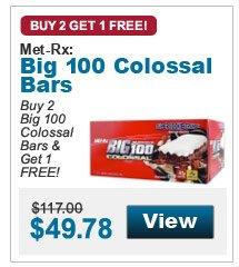 Buy 2  Big 100 Colossal Bars & Get 1 FREE!